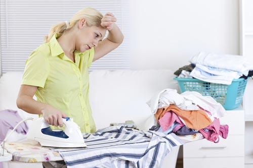 خشک کردن لباس پس از شستشو